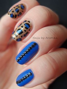 Love the leopard part.not the blue with black gems