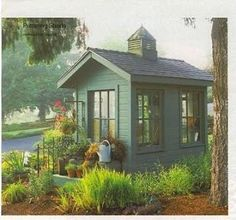 I love this garden shed