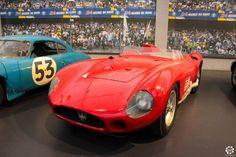 #Maserati #300S exposée à la #Cité de l'#Automobile, Collection #Schlumpf, de #Mulhouse. Article original : http://newsdanciennes.com/2015/07/16/on-a-teste-pour-vous-la-collection-schlumpf/ #Cars #Museum #Voiture #Ancienne #Classic