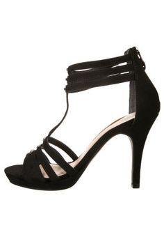 Tamaris High Heel Sandaletten - black - Zalando.de