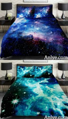 Upgrade your bedroom now(amazon best sell galaxy bedding set from anlye.com)