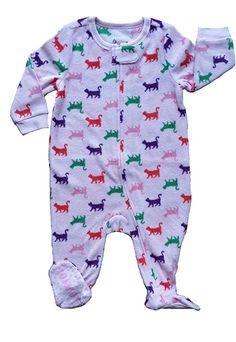 Amazon.com: Leveret Girls Footed Fleece Sleeper Pajama (Size 6M-5 Years): Clothing