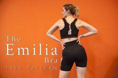 The Emilia Sports Bra - Free Sewing Pattern - Mood Sewciety