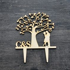 Cheap Event & Party Supplies, Buy Directly from China Suppliers:	Rustic Wedding Cake Topper - initials Cake Topper Mr and Mrs Wedding Cake Topper Cake Decor	  			Note:				since&nb