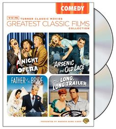 TCM Greatest Classic Films Collection: Comedy (Arsenic and Old Lace / A Night at the Opera / The Long Long Trailer / Father of the Bride 1950)