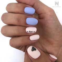 What manicure for what kind of nails? - My Nails Cute Acrylic Nails, Cute Nails, Pretty Nails, Gorgeous Nails, Arrow Nails, Dream Nails, Stylish Nails, Perfect Nails, French Nails