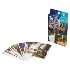 Brain Busters Geography Card Games, 31-ct. Packs