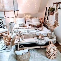 30 Fall Master Bedroom Trends Ideas that are Must-Try Fall bedroom decor – Here, the best bedroom decor ideas with a variety of different style. You'll find unexpected to bedroom decor ideas. Fall Bedroom Decor, Bohemian Bedroom Decor, Room Ideas Bedroom, Moroccan Bedroom, Ikea Bedroom, Bedroom Inspo, Bedroom Inspiration, Bed Room, Bedroom Furniture