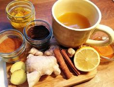 Immune boosting, flu fighting tea