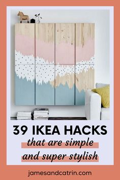 The best Ikea hacks we could find. There are loads of great Ikea hack ideas here to inspire you. #ikeahacks #ikeahack #ideas