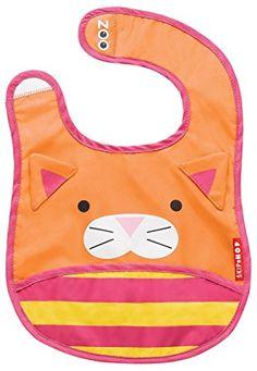 Babero diseño gato naranja