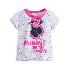 Minnie Mouse Tee for Baby featuring and polyvore,