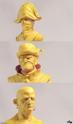 Pirates, Olivier Couston on ArtStation Character Modeling, 3d Character, Character Concept, 3d Modeling, Character Design Animation, Character Design References, Digital Sculpting, Renaissance Artists, Modelos 3d