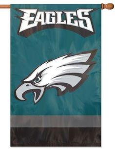 Philadelphia Eagles Applique House Flag