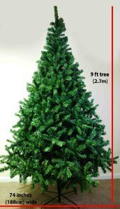 gorgeous top quality artificial christmas trees 5ft 15m 6ft 18m - Christmas Tree Amazon