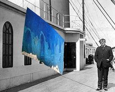 A composite of the wreck photo and a photo taken aboard the Titanic in showing the approximate location of the wall and windows in the wreck photo, and how it looked in The man in the photo is writer Jacques Futrelle, who died in the sinking. Rms Titanic, Titanic Ship, Titanic History, Titanic Underwater, Hippie Posters, Modern History, Animal Decor, Nautical Theme, Native American Indians