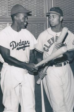 Natonal League- Brooklyn Dodgers: Jackie Robinson and from the American League…