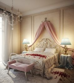 Best Designs Romantic Bedroom for New Couples