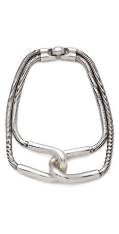 Hmmm, to figure this one out! - Giles & Brother Cortina Snake Chain Necklace