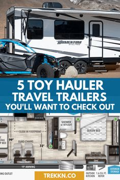 Travel Trailer Living, Toy Hauler Travel Trailer, Rv Trailers, Rv Travel, Travel Trailers, Rv Carports, Towing Vehicle, Summer Is Here, Rv Living