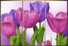 cuadros modernos con flores al oleo