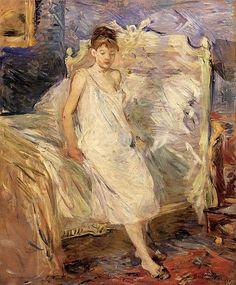 Berthe Morisot, Getting Up