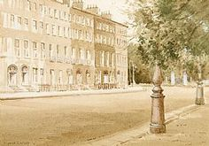 Maurice Canning Wilks ARHA RUA (1911-1984), Merrion Square, Dublin at Morgan O'Driscoll Art Auctions