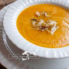 Carrot & Caramelized Onion Soup
