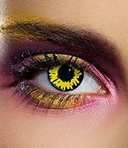 EDIT 1 Year Twilight Werewolf Coloured Contact Lenses (Yellow)