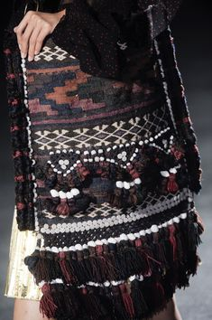 Dries Van Noten / Spring 2014 / High Fashion / Ethnic & Oriental / Carpet & Kilim & Tiles & Prints & Embroidery Inspiration /