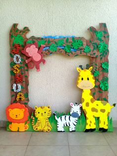 Safari Theme Birthday, Baby Boy 1st Birthday Party, Jungle Theme Parties, Lion King Birthday, Safari Party, Animal Birthday, Birthday Party Themes, Jungle Party, Jungle Decorations