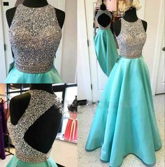 178 USD.A-line Beaded Sequins Party Cocktail Dress Backless Prom Dress Formal Gowns Evevning Dresses