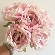 How to Make Realistic Fabric Peonies with Stems (Video) | The DIY Mommy