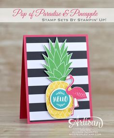 nice people STAMP!: NEW 2016-2017 Stampin' Up! Annual Catalogue (Canadian Version) & Pineapple Card