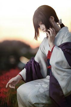 Rurouni Kenshin - Tomoe Yukishiro - Cosplay (published by Bokumaru on Cure WorldCosplay)