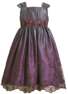 Bonnie Jean Girls 7-16 Embroidered Mesh Sequin Emma Dress,Plum,8 Bonnie Jean, http://www.amazon.com/dp/B003V8ADAK/ref=cm_sw_r_pi_dp_6JYRpb0C140QE
