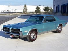 1968 Mercury Cougar GTE.....Somehow they managed to cram a 427 into this thing. One of the rarer cars you might run into