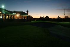 Roseville Golf Club, gorgeous day or night wedding venue