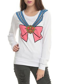 This sweater that's way more comfortable than a leotard: | 24 Sailor Moon-Inspired Fashion That Are Too Beautiful For Words