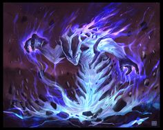 Spellbound Elemental by Sickbrush.deviantart.com on @DeviantArt