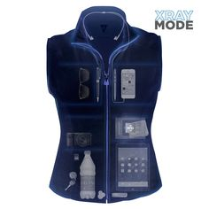 Brand new RFID Blocking Travel Vest from Scottevest! You can be digitally pick-pocketed without even realizing your information has been hacked - Protect yourself!