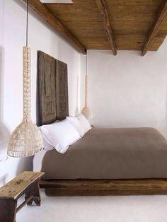bedroom designed by Alex Vervoordt