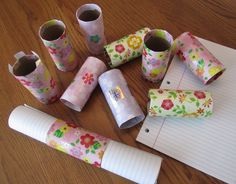 Easy idea for rolling notebook paper to put in shoeboxes; from simplyshoeboxes. 12 Days Of Christmas, Kids Christmas, Christmas Crafts, Christmas Boxes, Christmas Child Shoebox Ideas, Operation Christmas Child Shoebox, Samaritan's Purse, Diy Purse, Craft Gifts