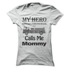 ed3c792175853b Firefighter mom - light color shirt T Shirts