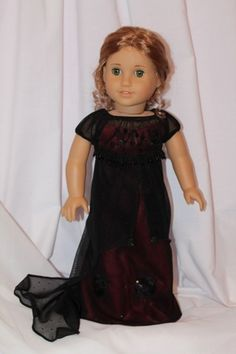 Titanic Rose's Jump dress for American Girl doll. OOAK by all Dolled Up Doll Clothes
