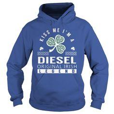 Kiss Me DIESEL Last Name, Surname T-Shirt