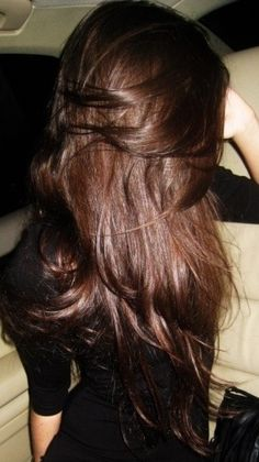 Thick and luscious brunette hair <3