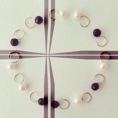 Yesim Yuksek for Alef - gold earrings #alefjewelry #yesimyuksek #finejewelry #contemporaryjewelry #designerjewelry #18kgold #earrings #second #piercings