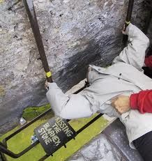 Scotland's Blarney Stone  According to legend, whoeer kisses the Blarney Stne is gifted with eloquence and persuasiveness