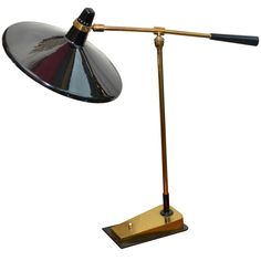 1950s Articulated Lamp by Genet and Michon